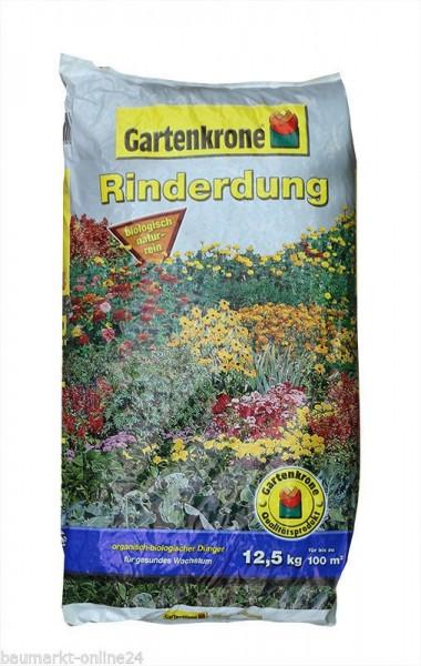 Rinderdung Dünger 12,5 Kg Gartenkrone