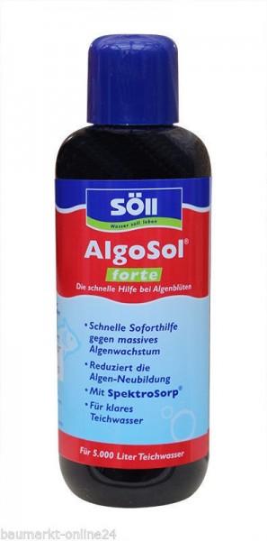 Söll AlgoSol® forte Schwebealgen Vernichter 250 ml