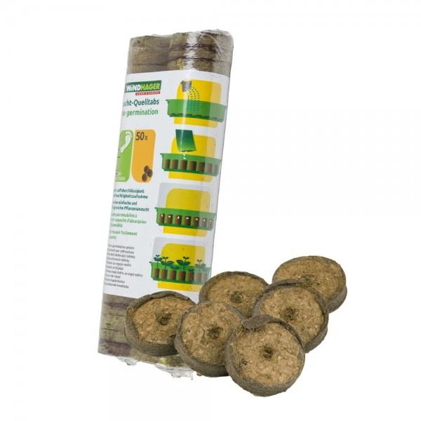 Anzucht Quelltabs 50 Stk Pflanzen Quelltabletten Quelltöpfe