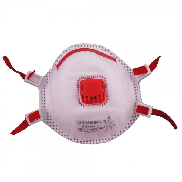 Feinstaubmaske FFP3 mit Ventil Staubschutz Maske