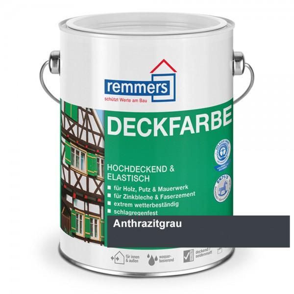 deckfarbe anthrazitgrau 2 5 l wetterschutzfarbe holzfarbe. Black Bedroom Furniture Sets. Home Design Ideas