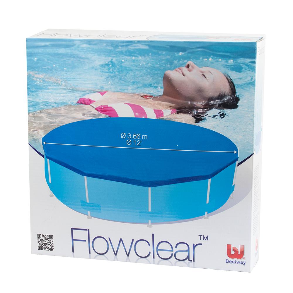 pool abdeckung für 366 cm schwimmbecken | lafloma gmbh