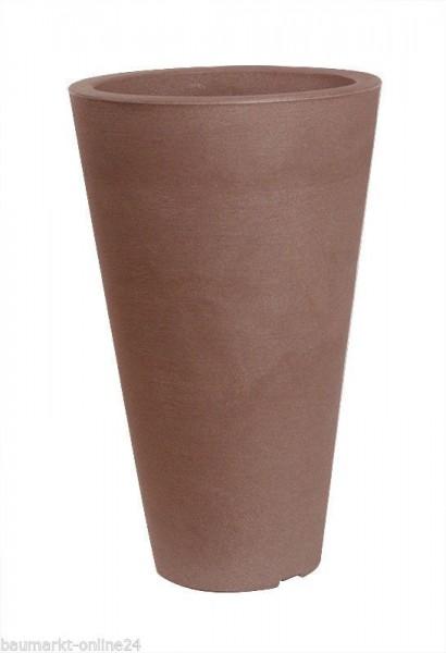 Pflanztopf CAPRI Rund Terracotta 35x55 cm Blumenkasten