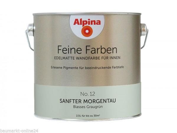 Alpina Feine Farben No 12 Sanfter Morgentau 25 L Wand Deckenfarbe