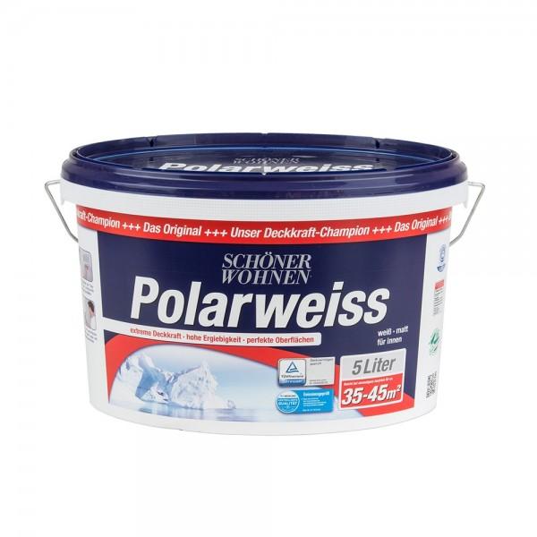 Polarweiss 5 L Wand- Deckenfarbe Innenfarbe Schöner Wohnen