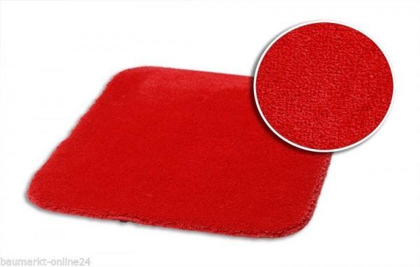 Kleine Wolke Badematte 55 x 65 cm Flamenco rot