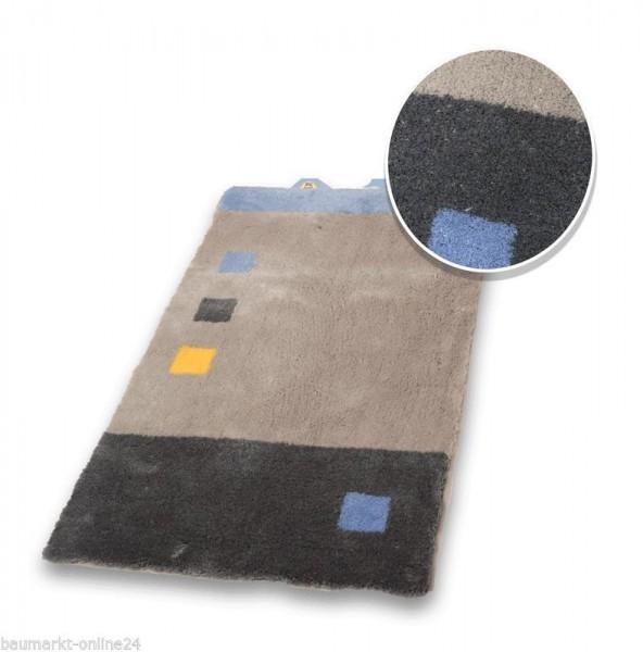Kleine Wolke Badematte 65 x 115 cm Lupo grau