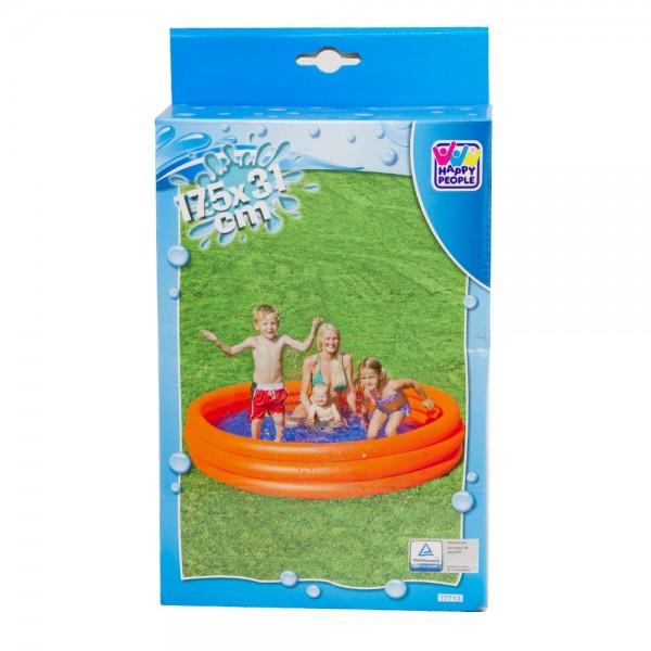 Planschbecken Pool 3-Ring 175 x 31 cm