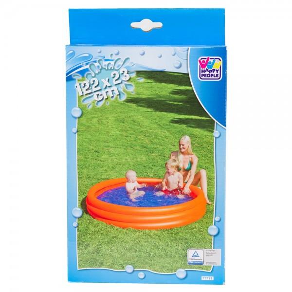 Planschbecken Pool 3-Ring 122 x 23 cm