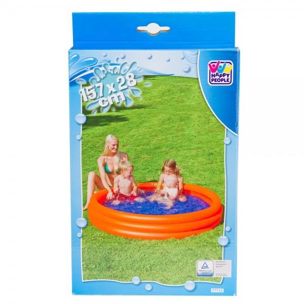 Planschbecken Pool 3-Ring 157 x 28 cm