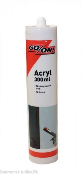 GO/ON Acryl 300 ml Weiß