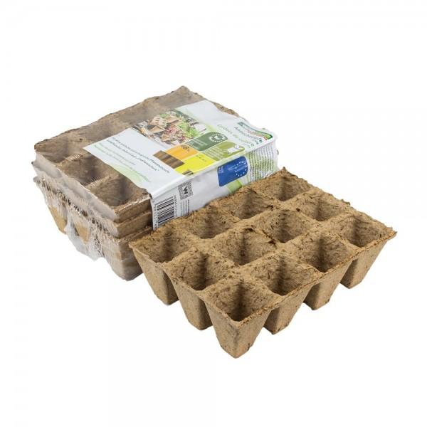Anzuchttöpfe 48 Stück 4 x 4 cm Pflanzen Anzucht biologisch