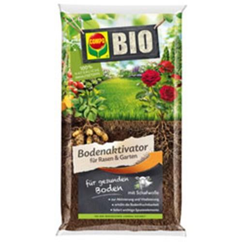 BIO Bodenaktivator für Rasen und Garten 5 Kg COMPO