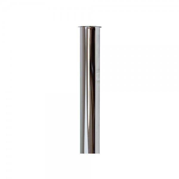 Tauchrohr - Siphon 1 1/4 Zoll x 250mm verchromt