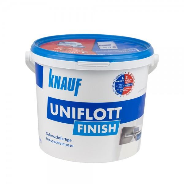 Knauf Uniflott Finish 8 Kg gebrauchsfertig Spachtelmasse