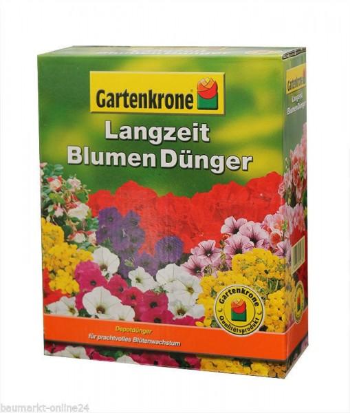 Langzeit Blumendünger 300 gr. Depotwirkung Gartenkrone