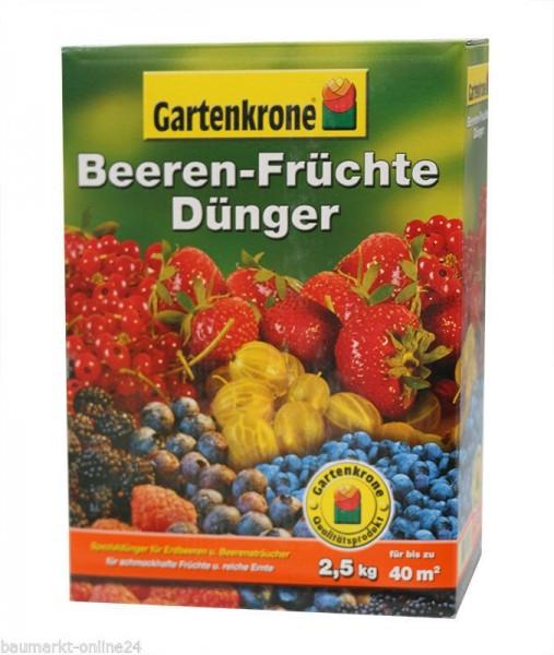 Pflanzendünger 1 Kg für Beeren und Früchte Gartenkrone