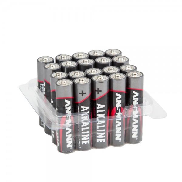 Batterien 20 Stk Red Alkaline Micro AAA 1,5 V ANSMANN