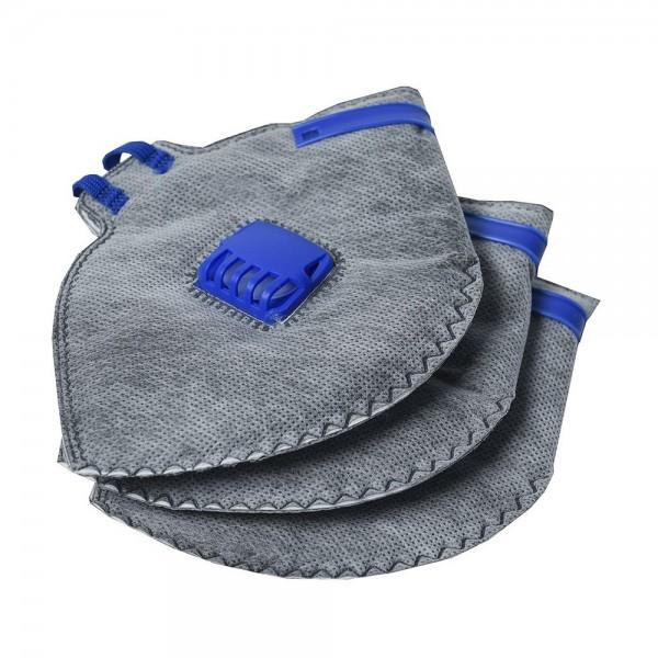 Falt-Geruchschutzmaske 3 Stk FFP2 Maske Schutz