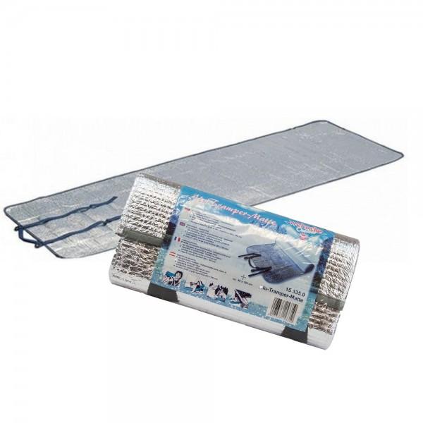 Alu Tramper Matte 60 x 190 cm Wehncke Isomatte Strandmatte