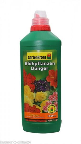 Blühpflanzen Dünger 1 L Gartenkrone