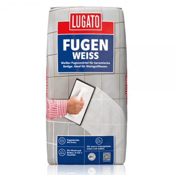 Lugato Fugenweiss 5 Kg Fugenmörtel Fliesen