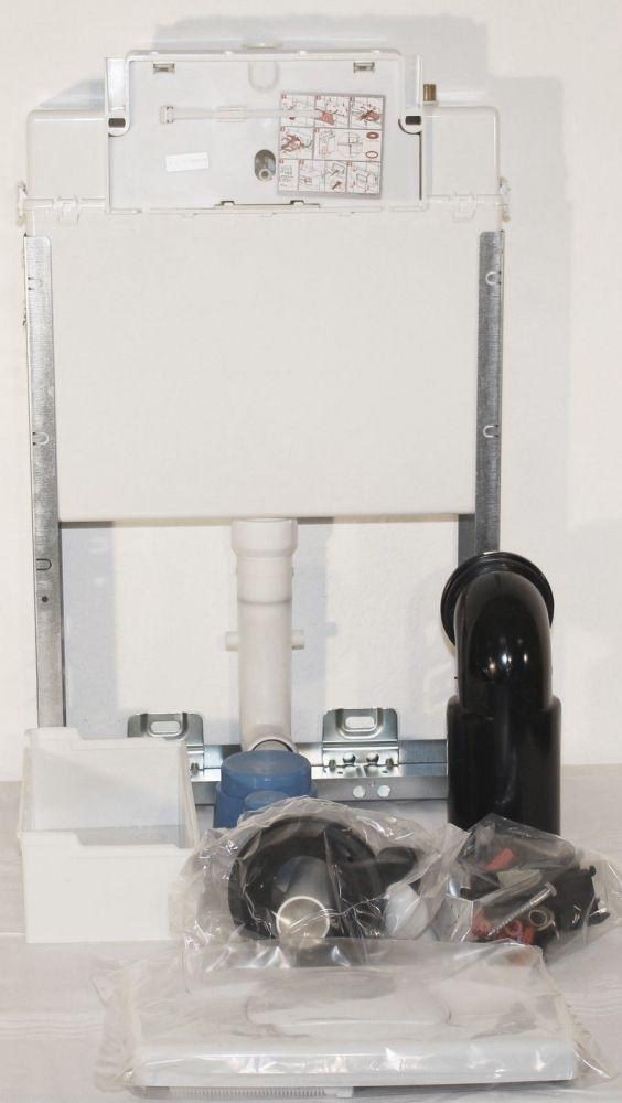 unterputz spuelkasten f r wc incl drueckerplatte weiss verosan ebay. Black Bedroom Furniture Sets. Home Design Ideas