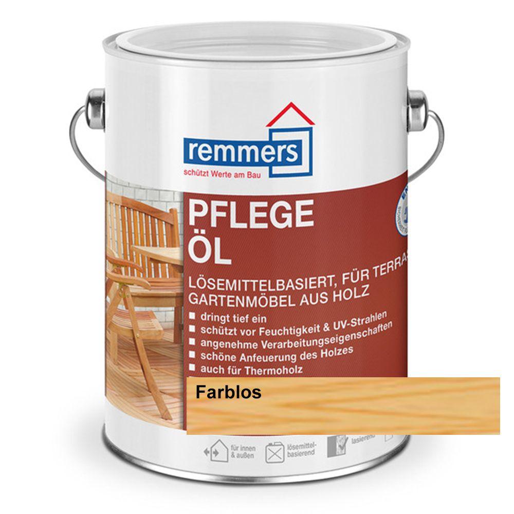 pflege l farblos 2 5 l terrassen l m bel l holz l remmers ebay. Black Bedroom Furniture Sets. Home Design Ideas